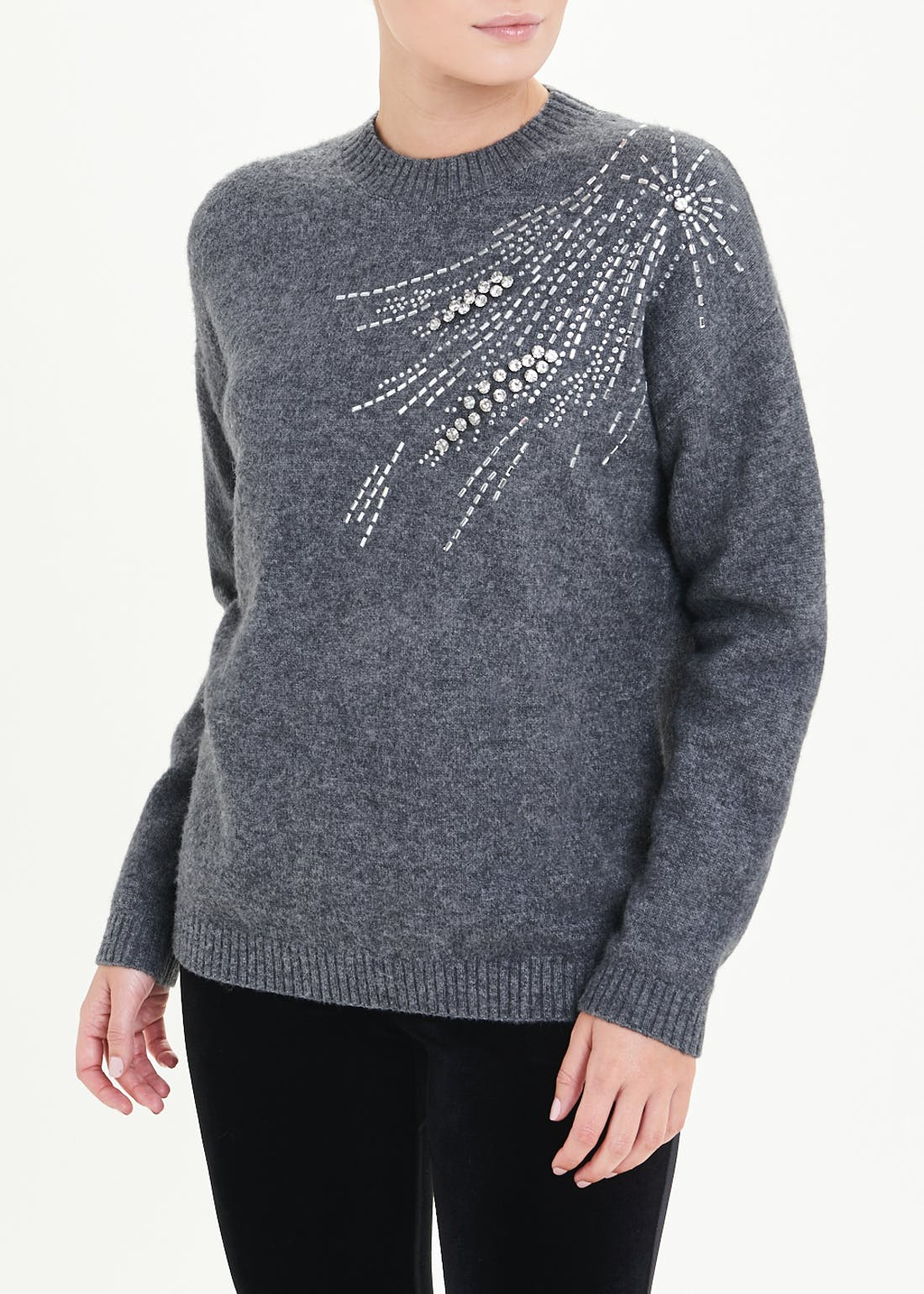 Sparkle Star Embellished Jumper