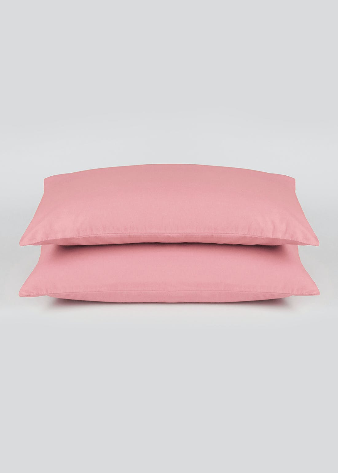Cotton Percale Housewife Pillowcase Pair (180 Thread Count)