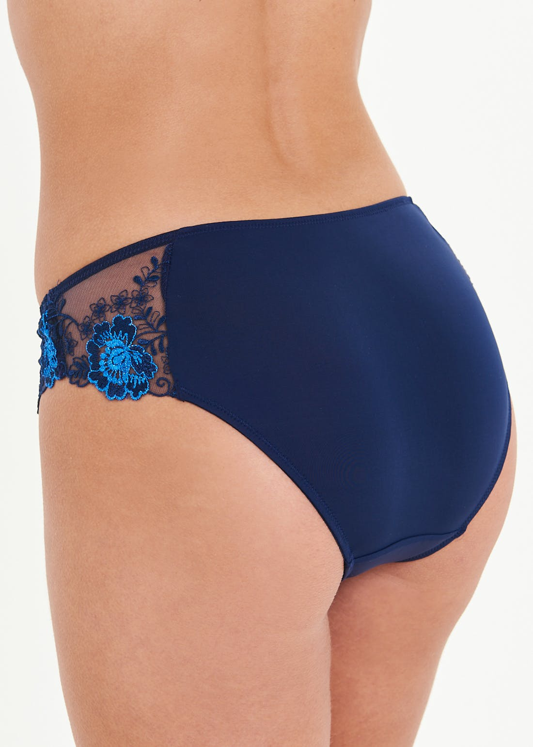 Embroidered Lace Knickers