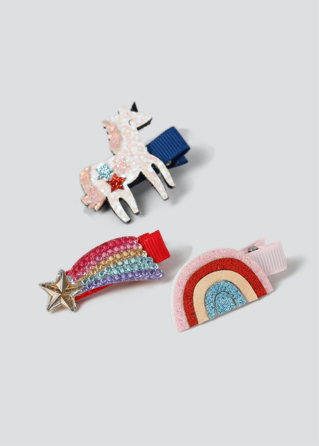 Girls Unicorn Clips