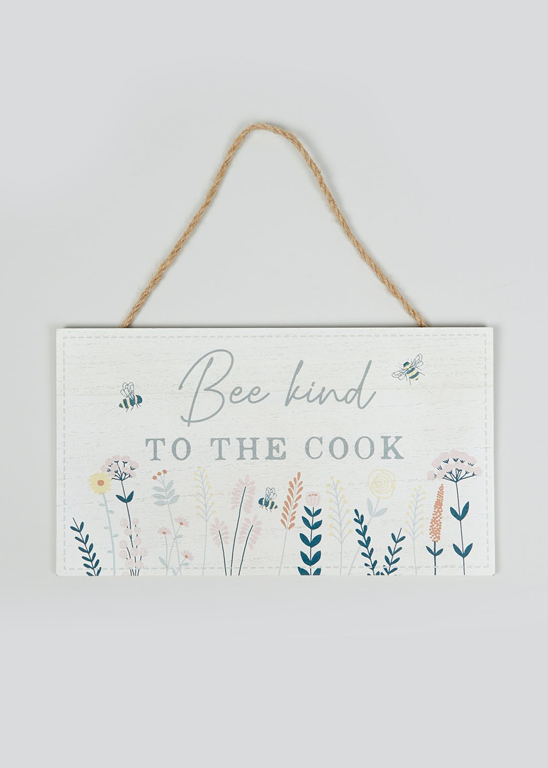 Bee Kind to the Cook Plaque (30cm x 26cm x 1.5cm)