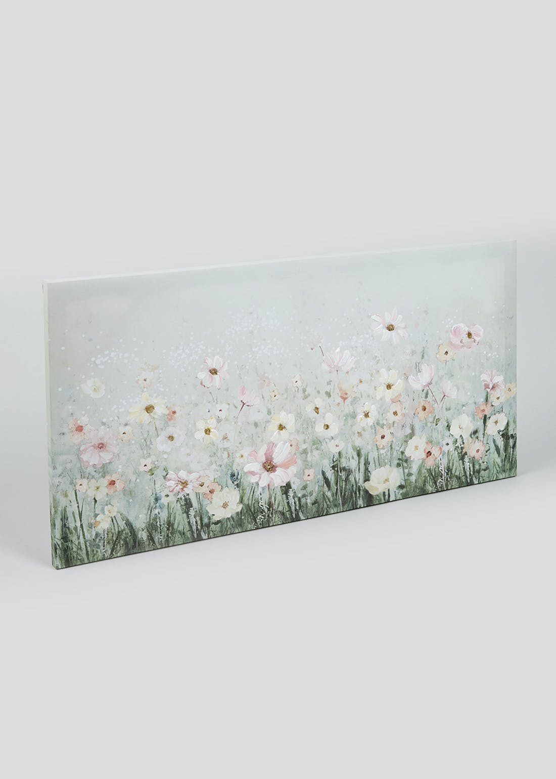 Large Floral Canvas Print (80cm x 40cm)