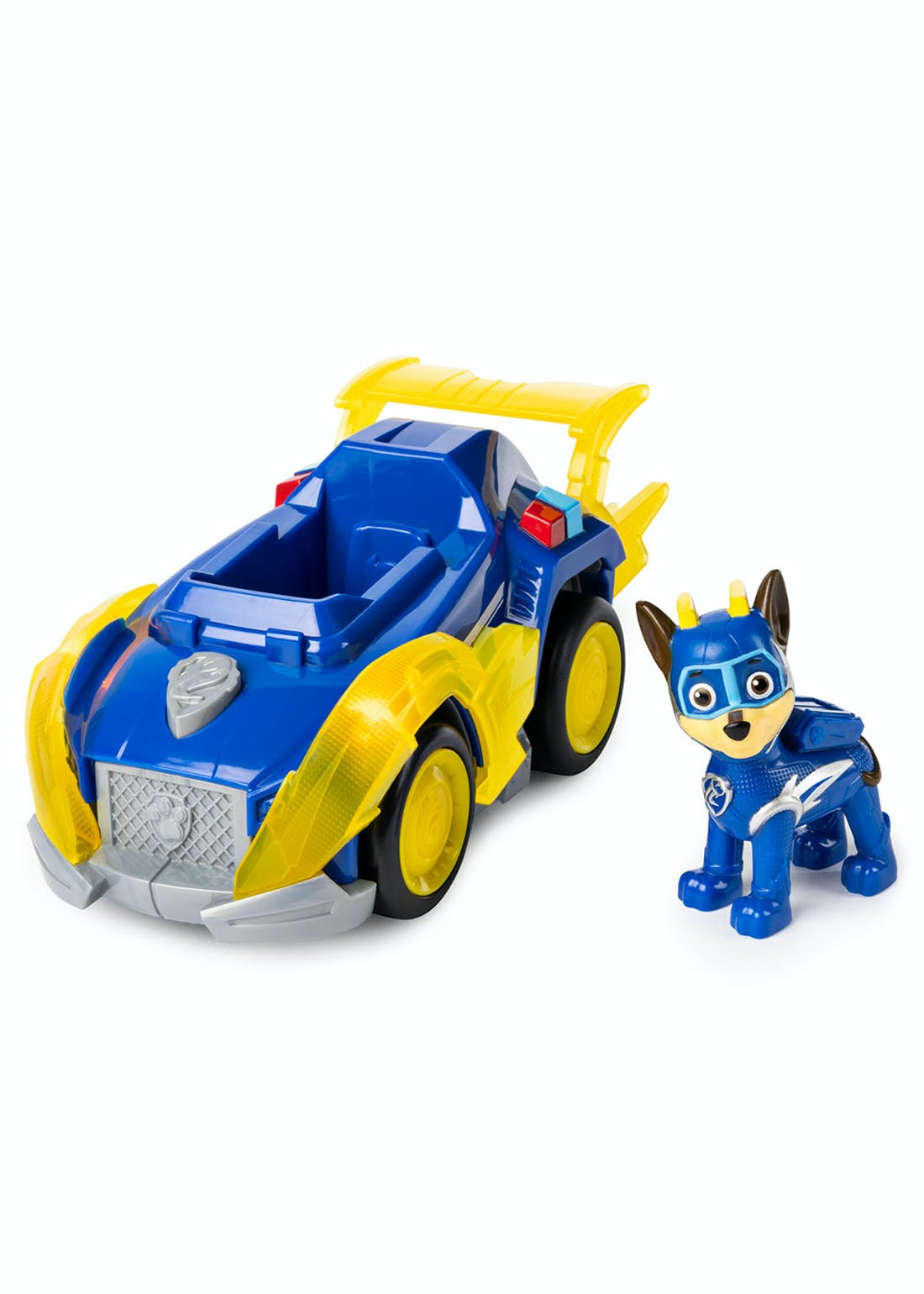 Paw Patrol Chase Mighty Pups Super Pups Deluxe Vehicle (23cm x 23cm x 9.5cm)