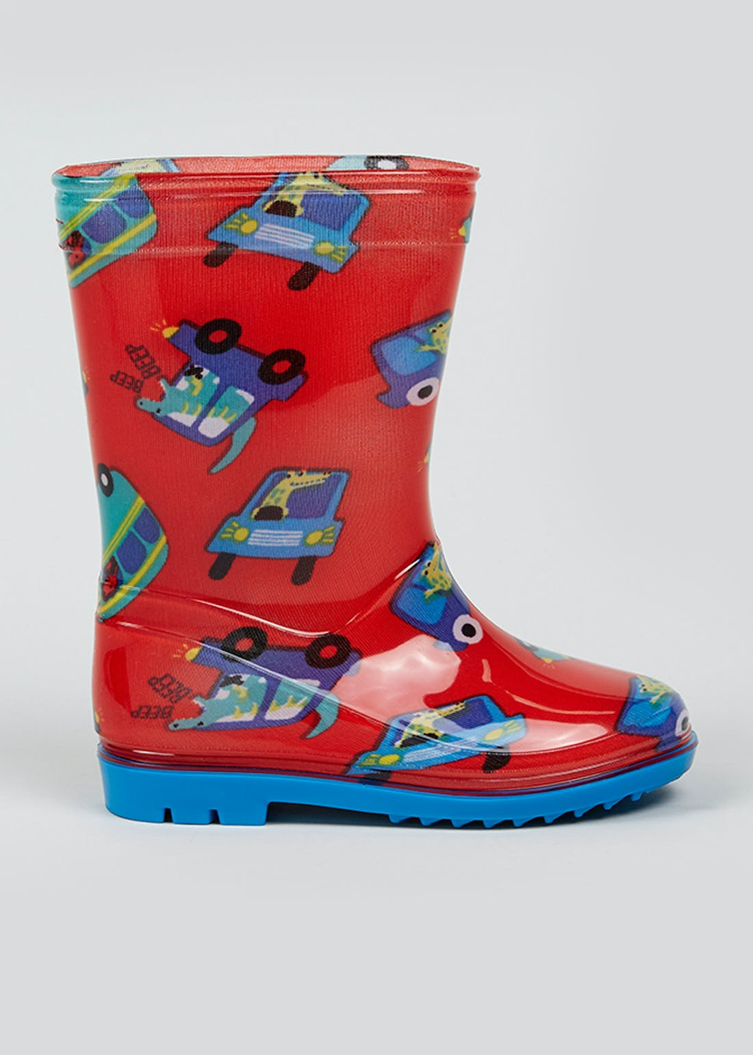 Kids Car Wellies (Younger 4-9)