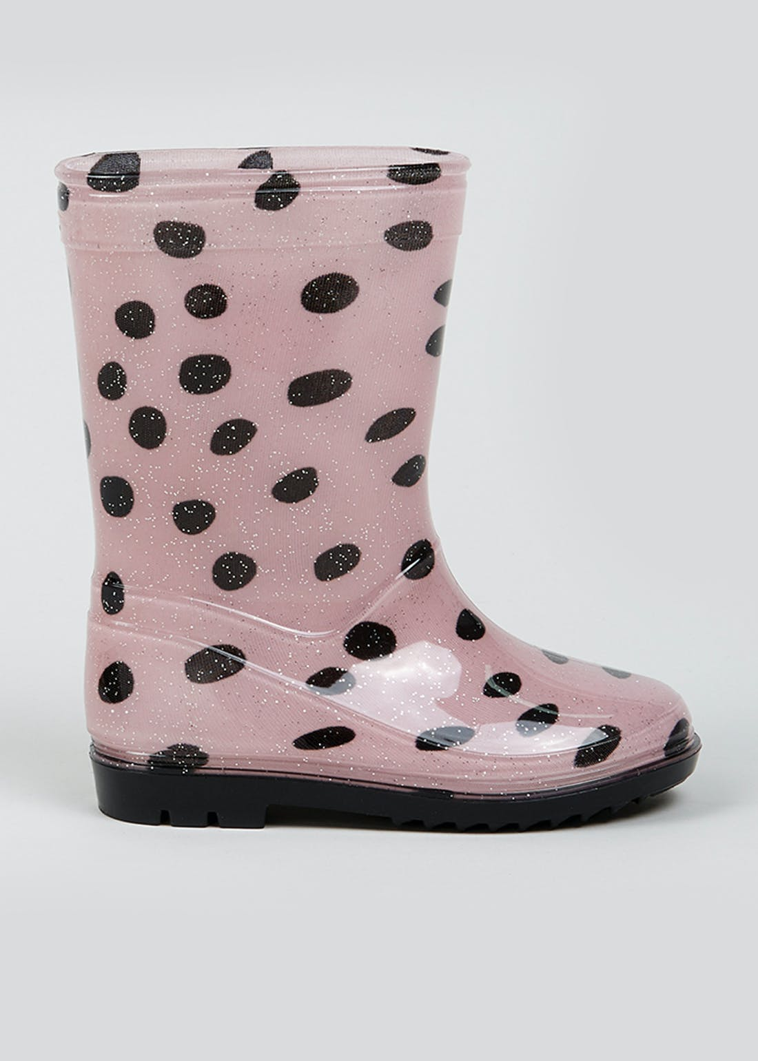 Girls Spotted Wellies (Younger 4-9)