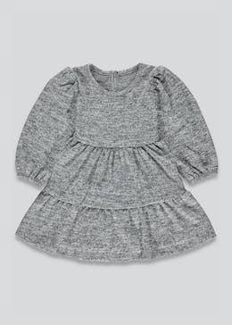 Girls Tiered Snit Dress (9mths-6yrs)