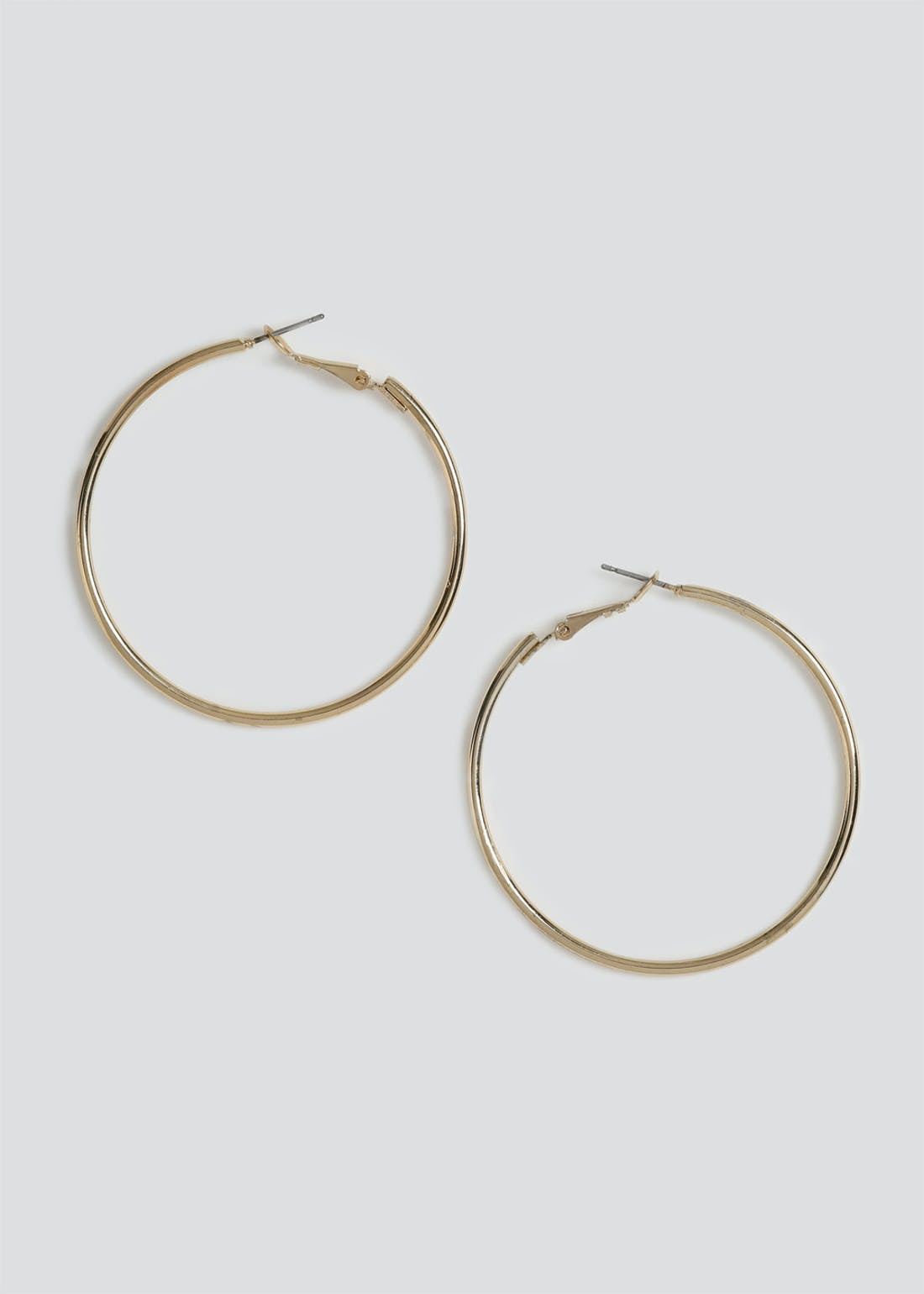 Medium Sleeper Hoop Earrings