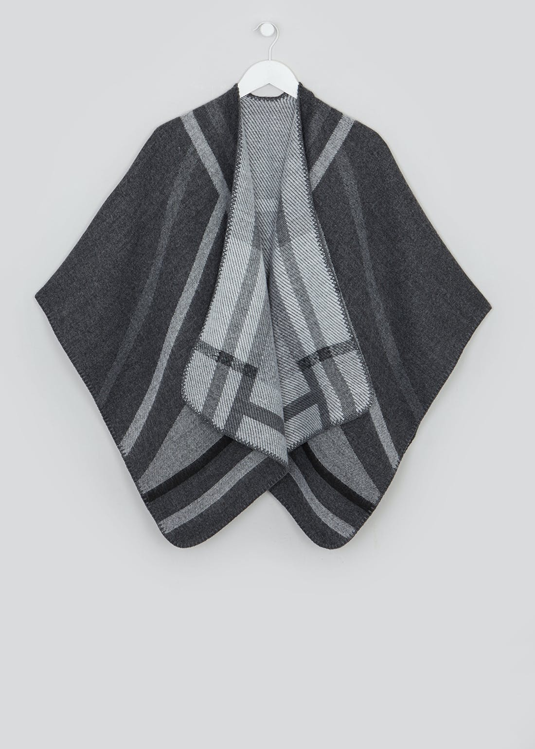 Abstract Print Shawl