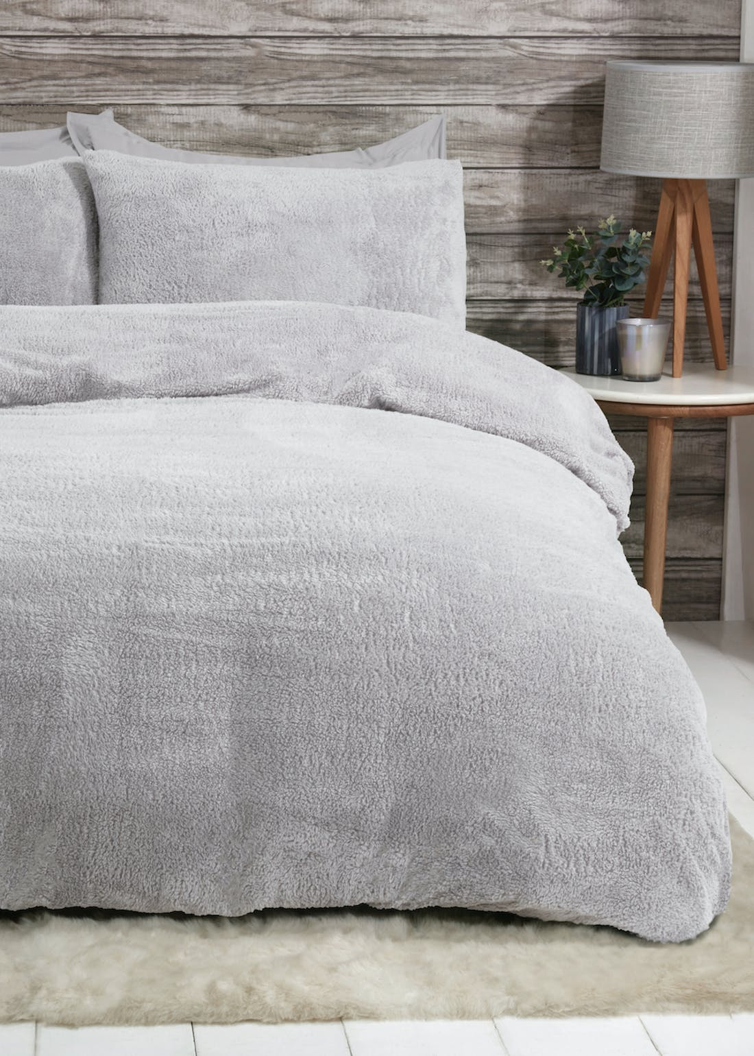 Sleepdown Teddy Fleece Duvet Cover