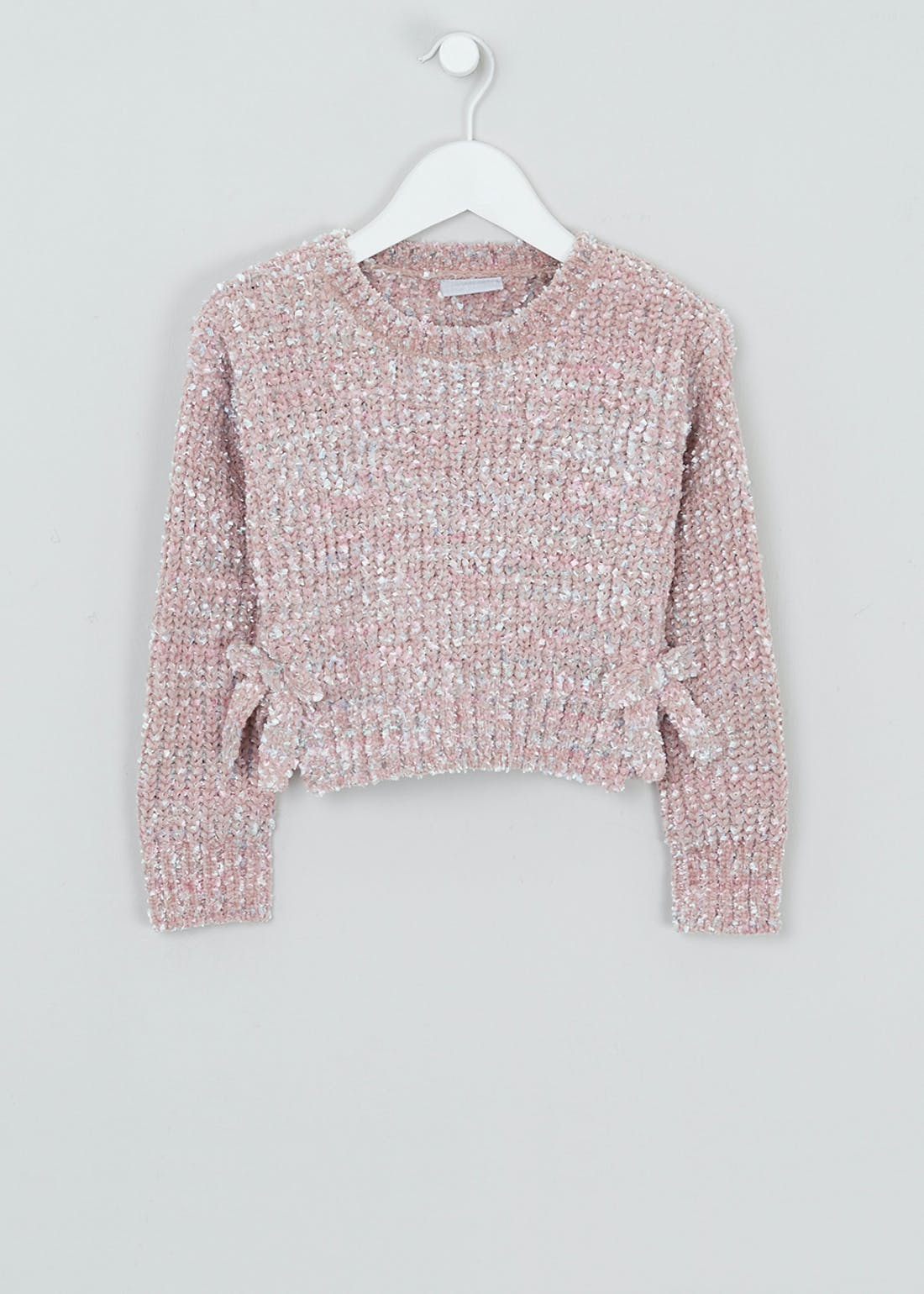 Girls Chenille Cropped Jumper (4-13yrs)