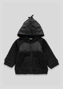 Boys 3D Dinosaur Spike Fleece Hoodie (9mths-6yrs)