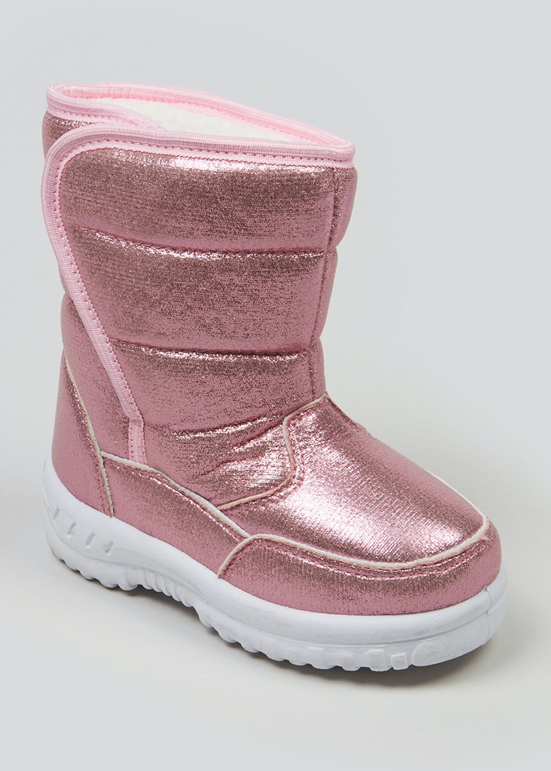 Kids Metallic Snow Boots (Younger 4-12)