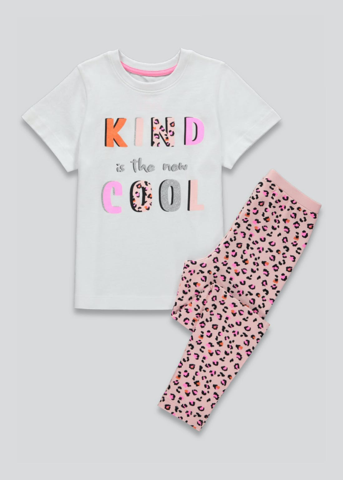Girls Kind is Cool Pyjama Set (4-13yrs)