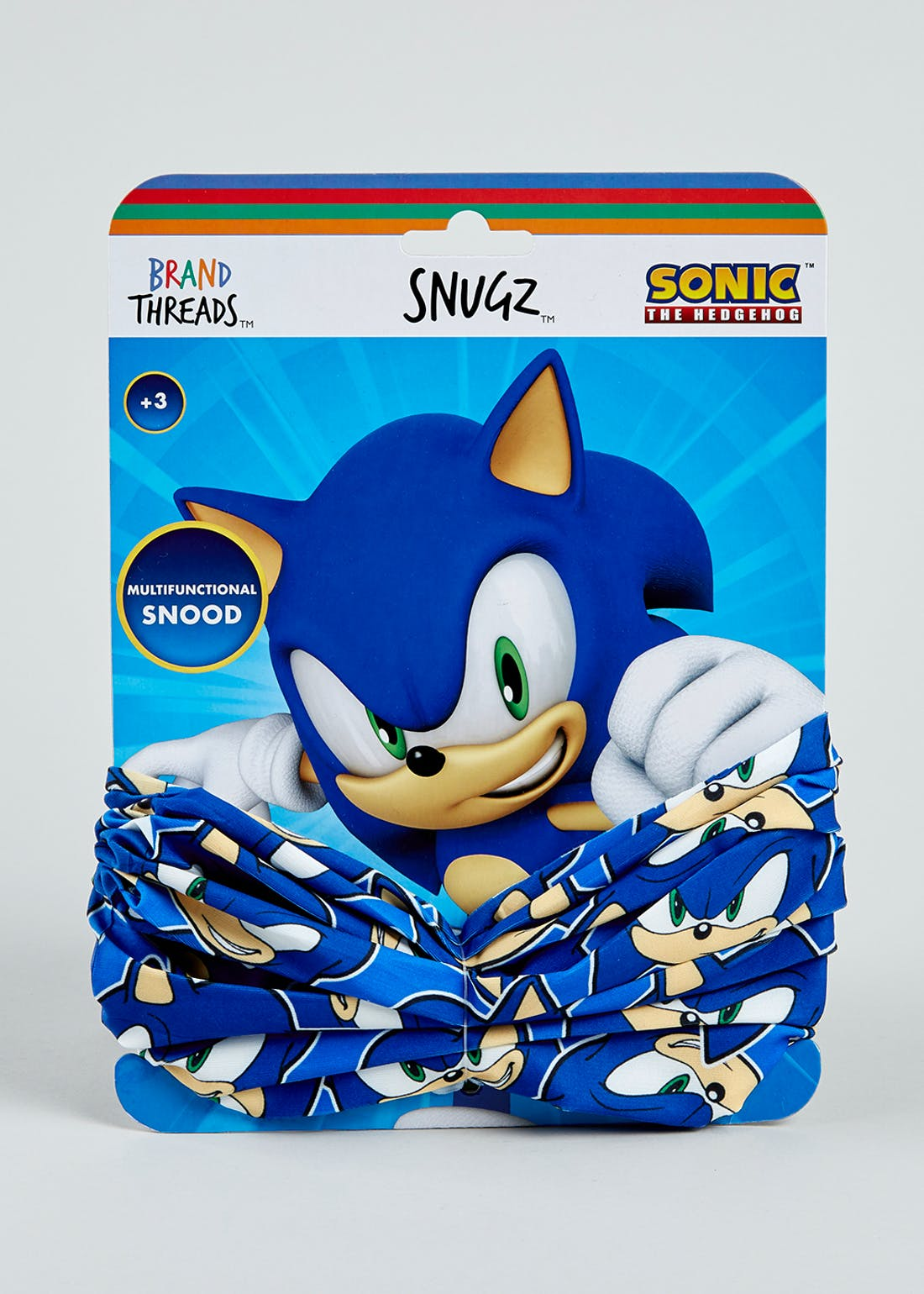 Kids Sonic The Hedgehog Snood (One Size)
