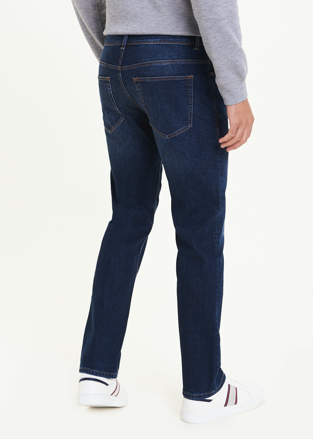 Stretch Straight Fit Jeans