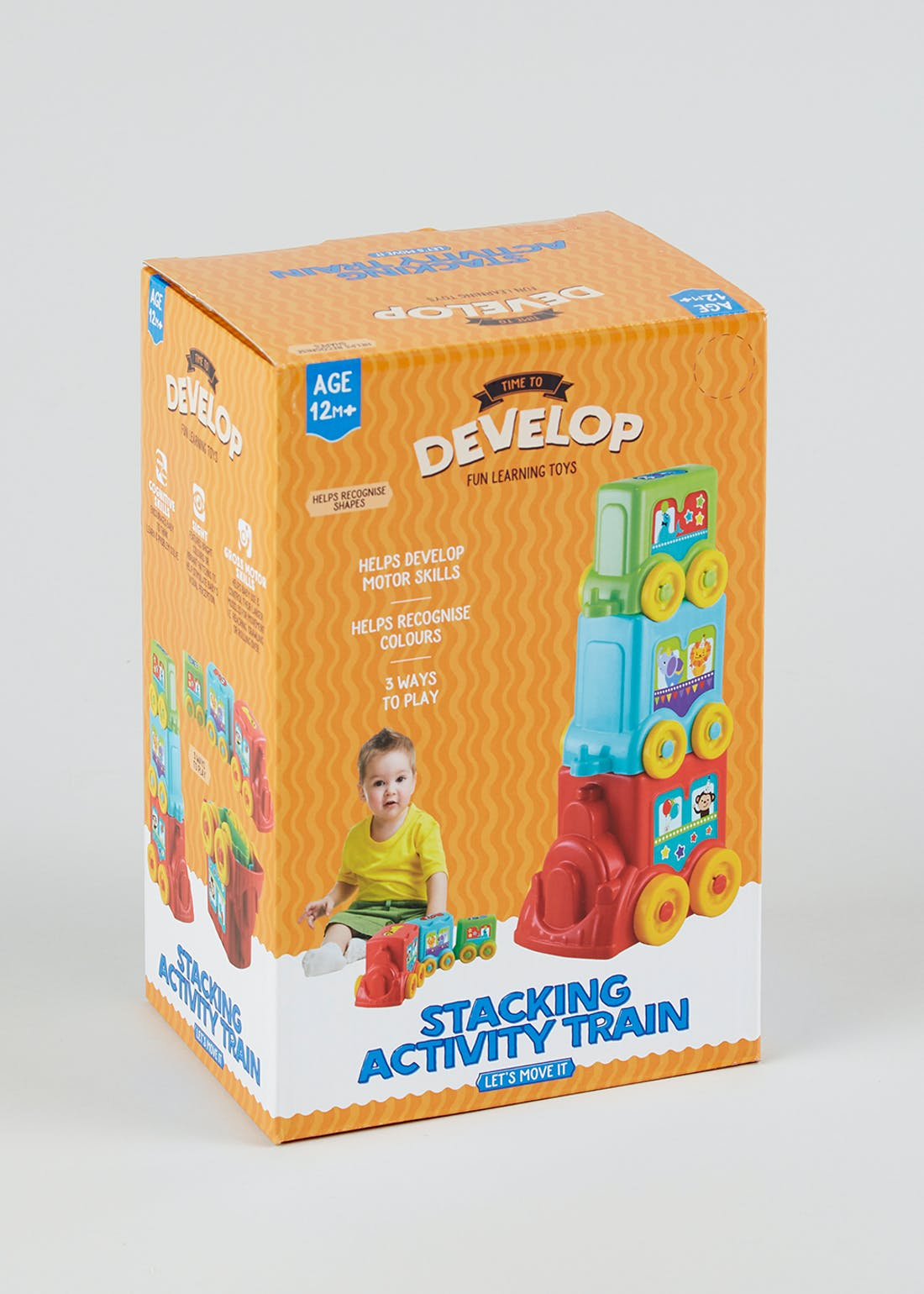 Kids Stacking Activity Train