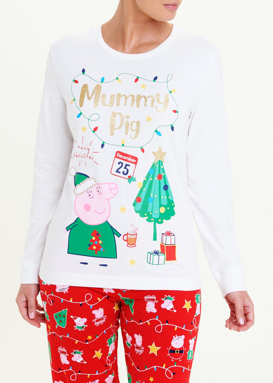 Mummy Pig Christmas Pyjamas