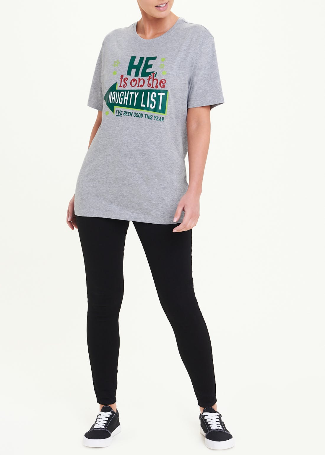 Naughty List Christmas T-Shirt