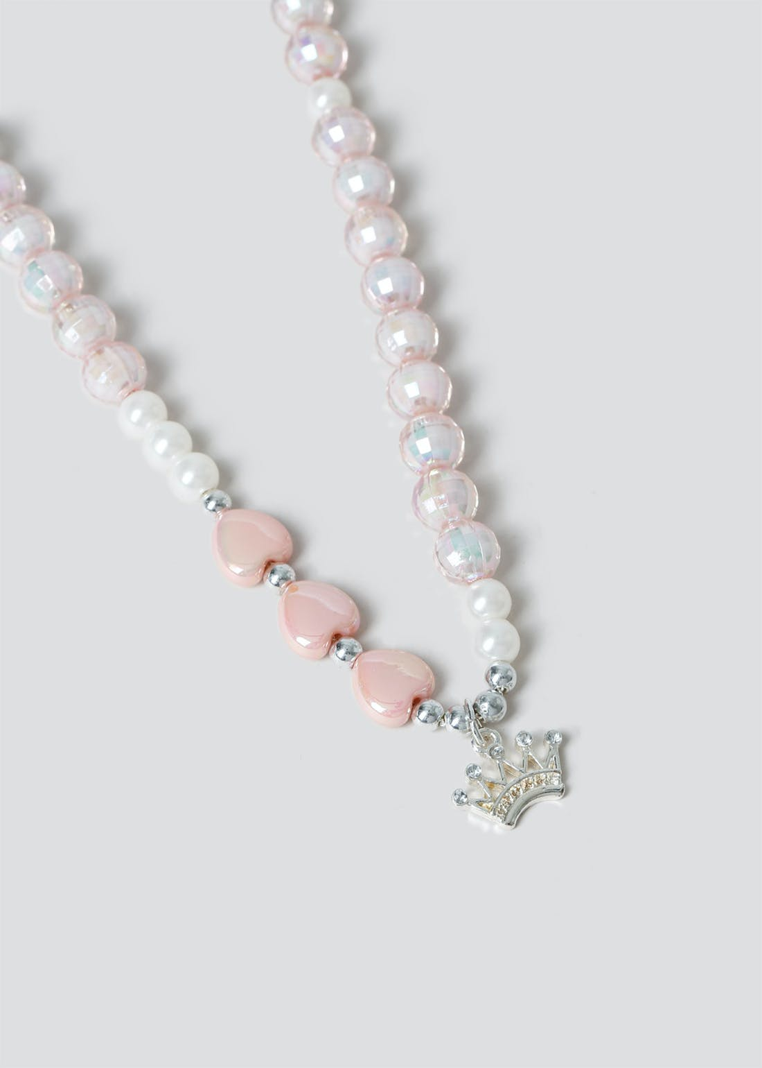 Girls Crown Necklace Gift Set