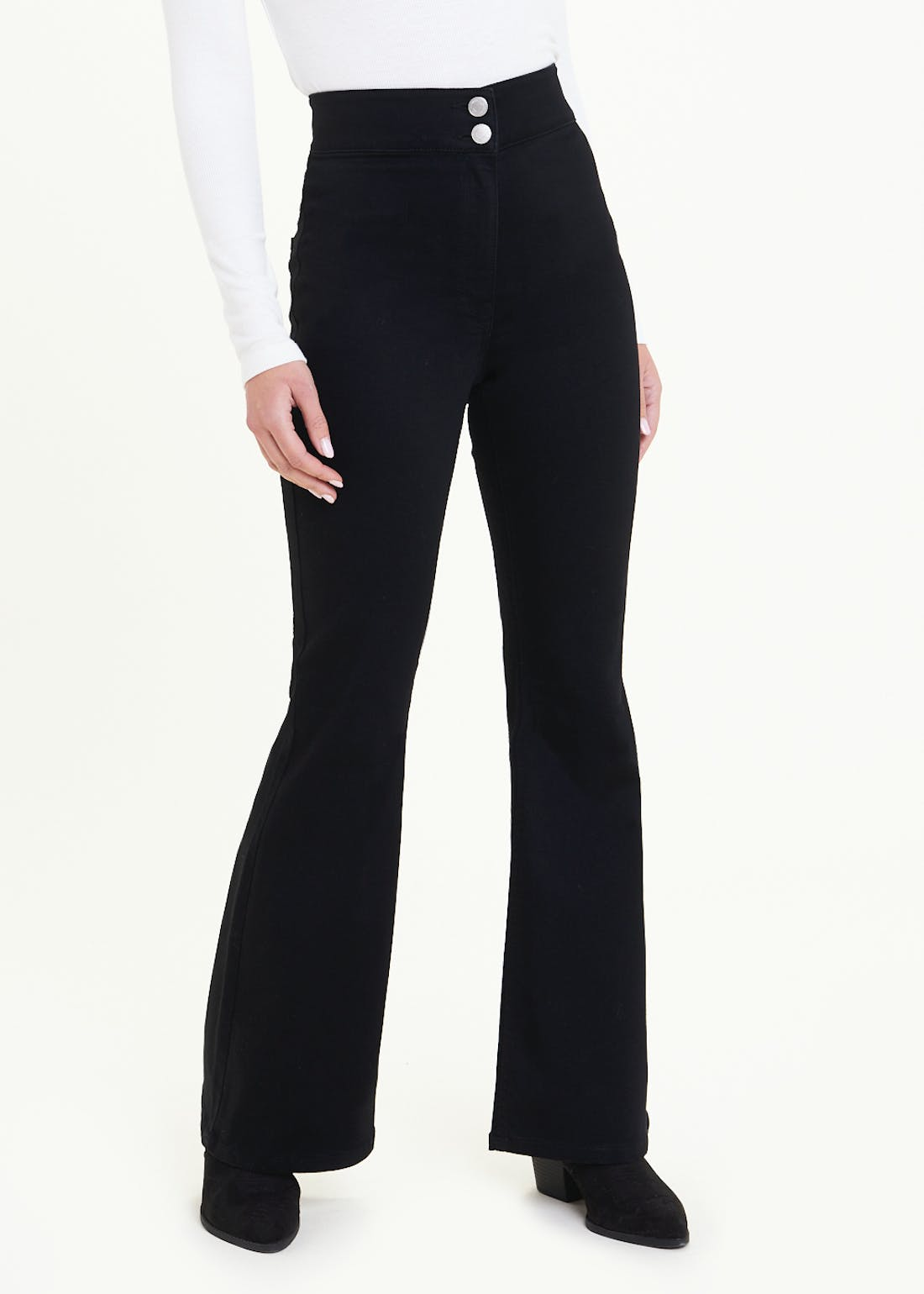 Jessie High Waisted Flared Jeans