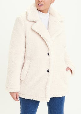 Cream Teddy Coat