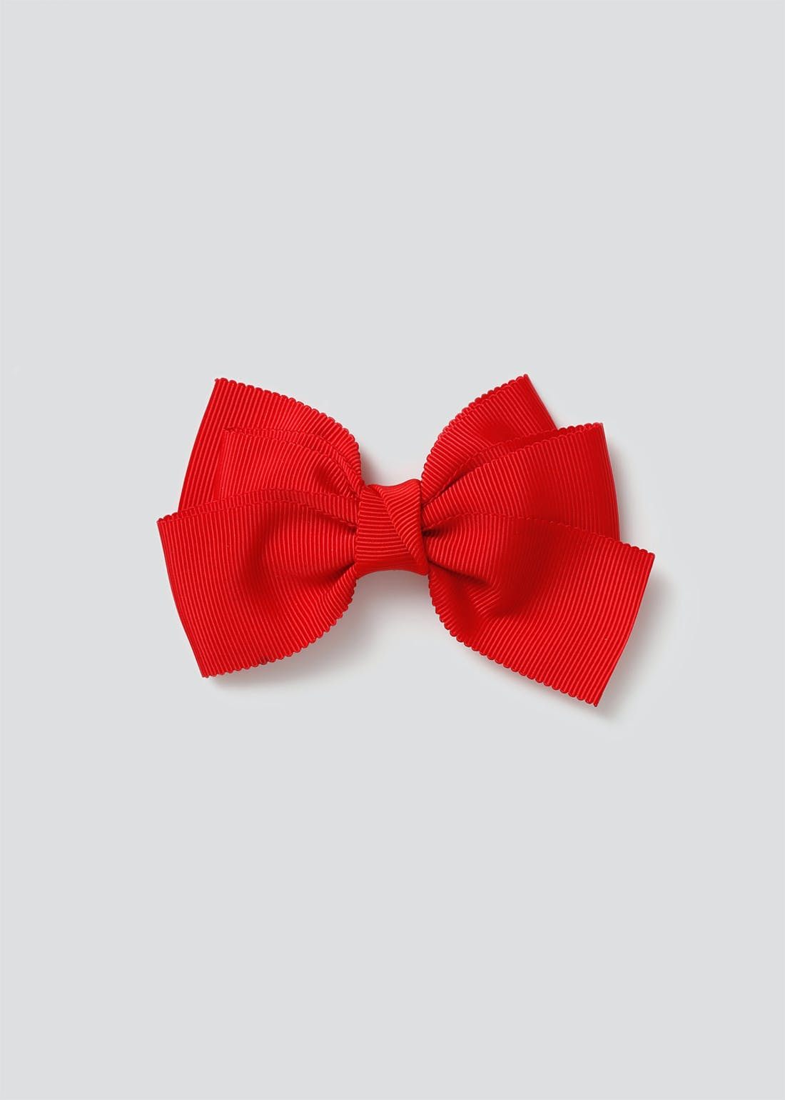 Girls Back to School Red Bow