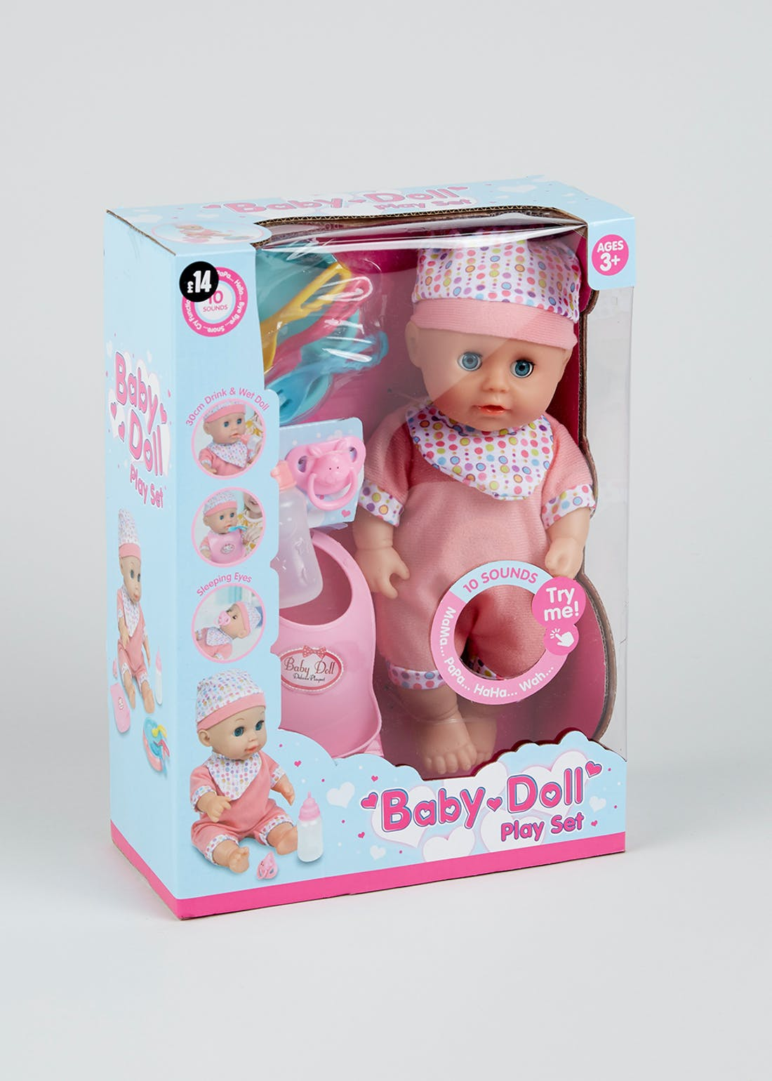 Baby Doll Play Set (30cm)
