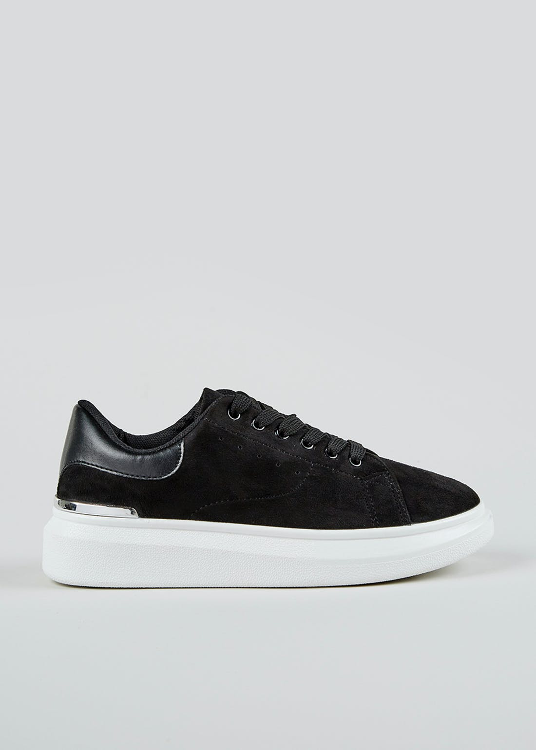 Chunky Suede Trainers