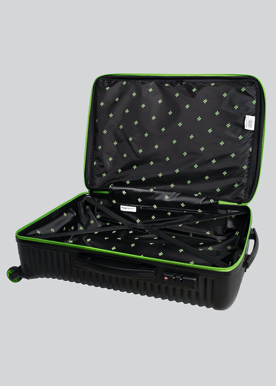 IT Luggage Upbeat Hard Suitcase