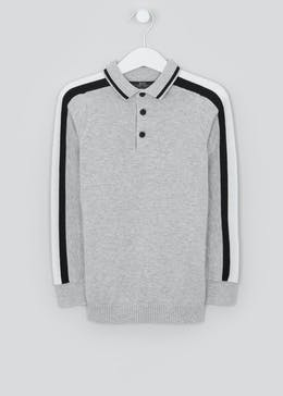 Boys Long Sleeve Polo Shirt (4-13yrs)