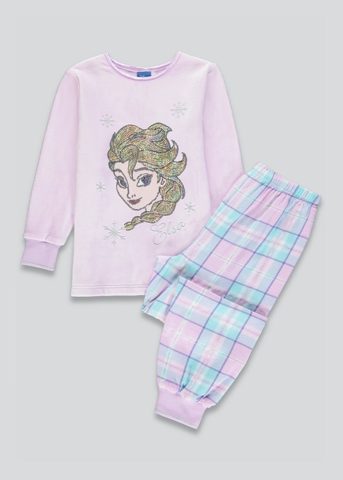 Kids Frozen Fleece Pyjama Set (2-9yrs)