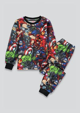Kids Marvel Avengers Fleece Pyjama Set (2-9yrs)