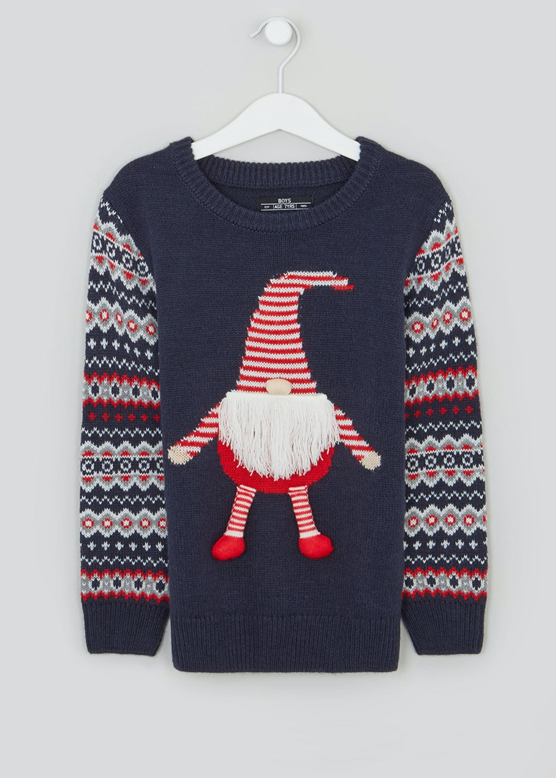 Boys Gnome Christmas Jumper (9mths-3yrs)