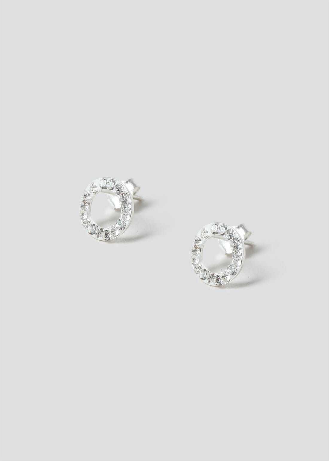 Sterling Silver Circle Stud Pack