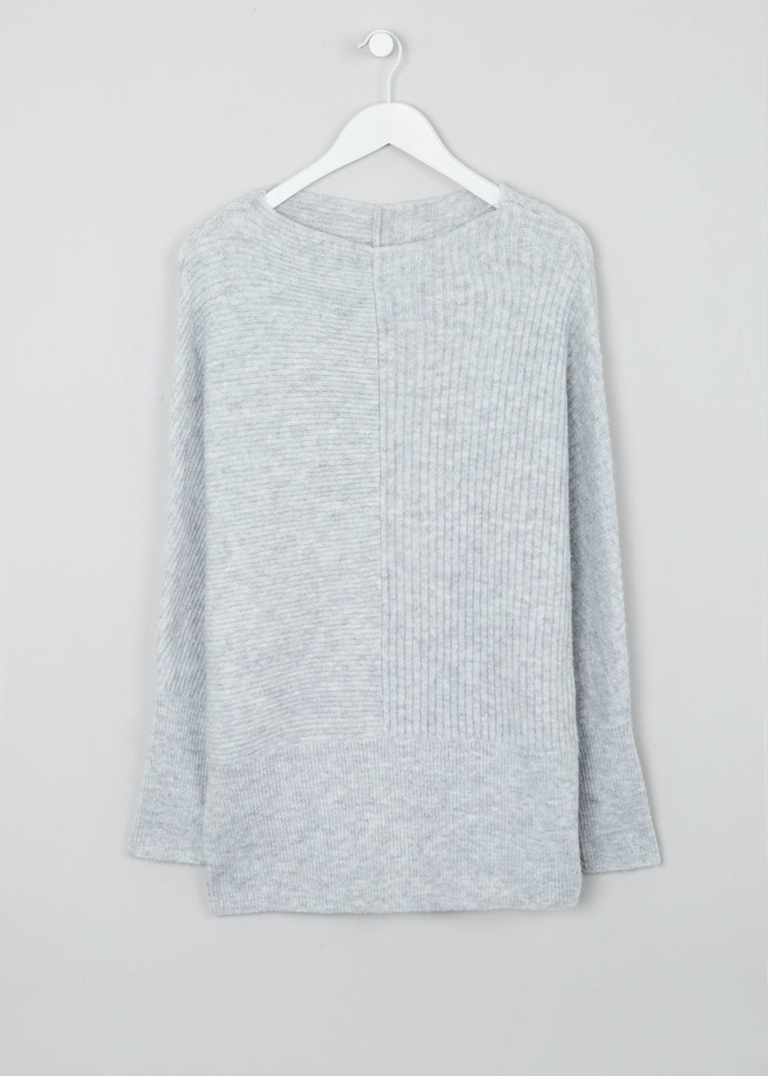 Ribbed Longline Jumper