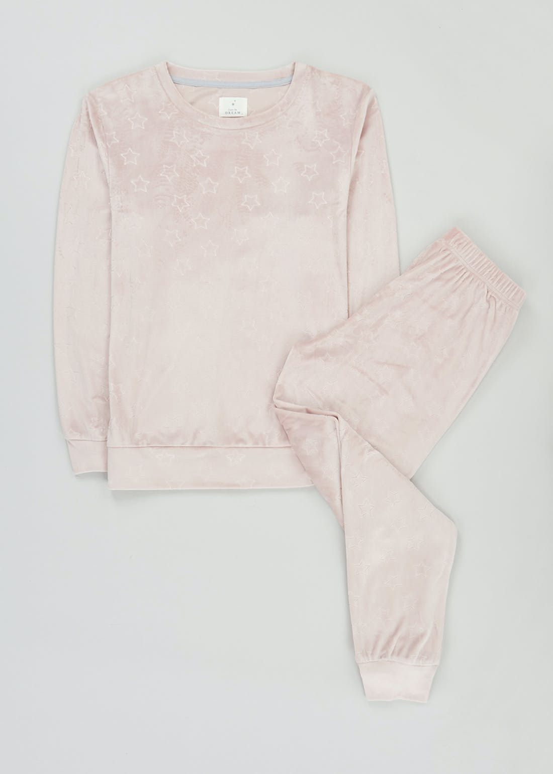 Embossed Star Pyjama Set