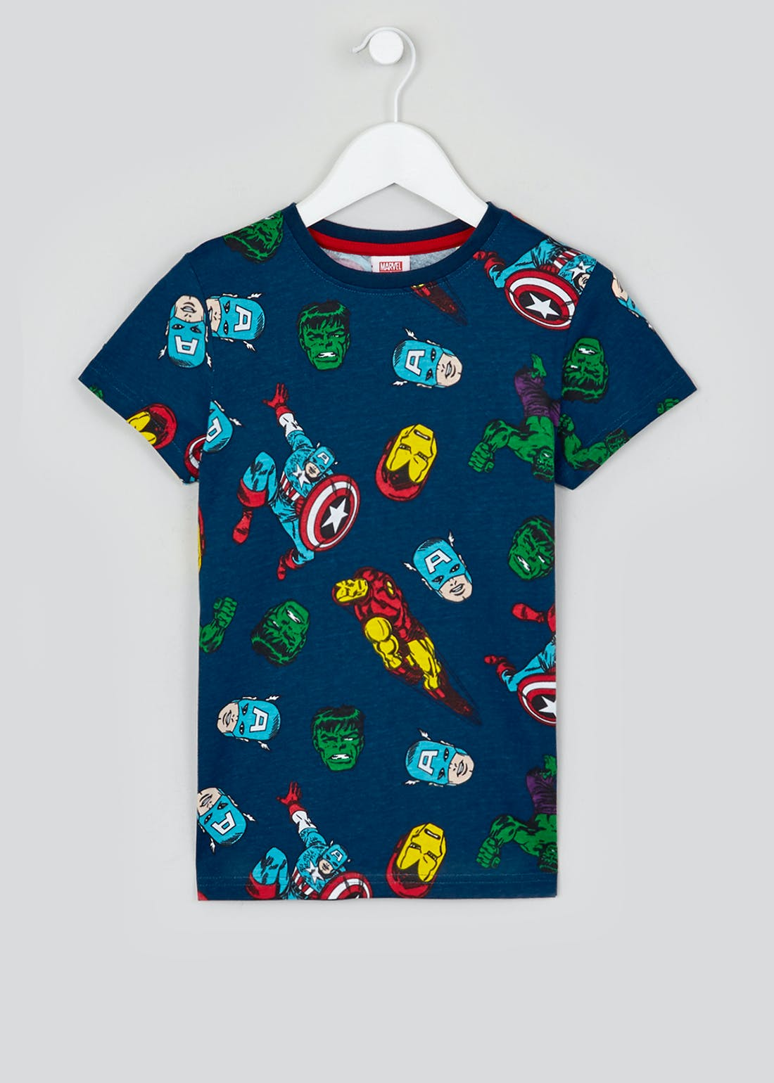 Kids Marvel Avengers T-Shirt (2-9yrs)