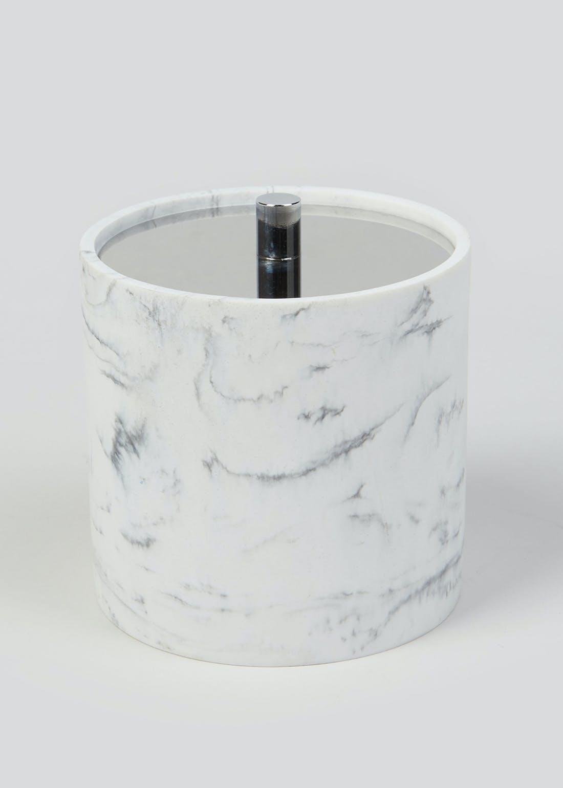 Round Marble Effect Container