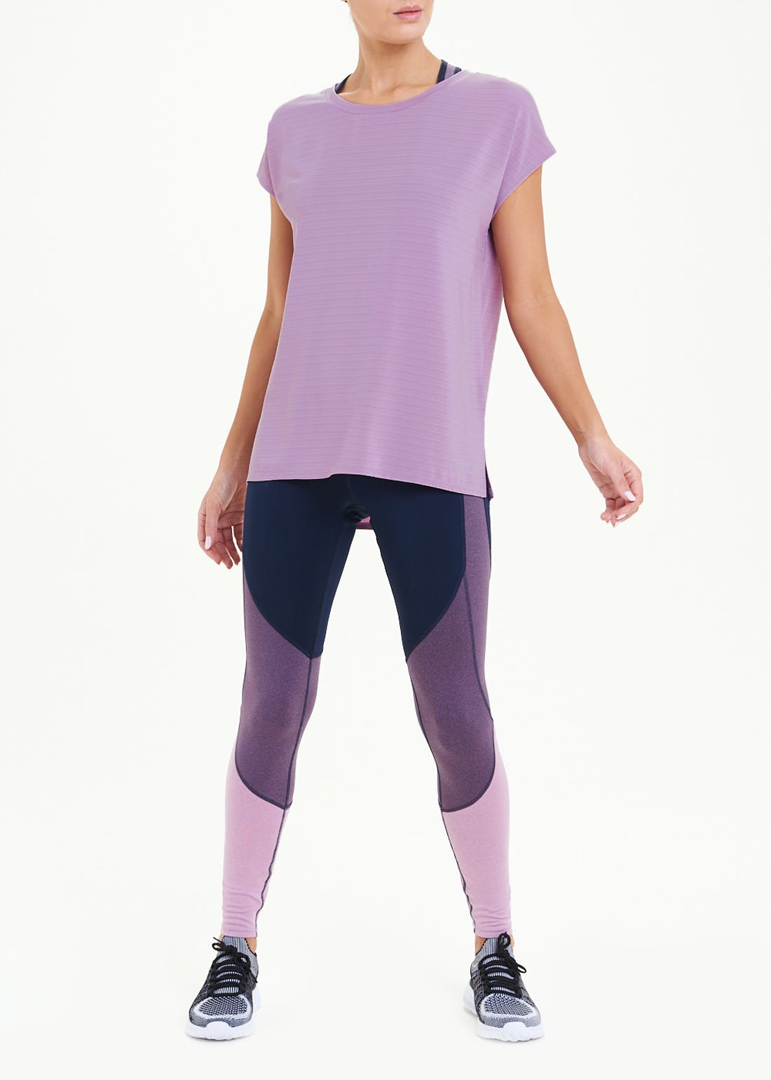 Souluxe Lilac Slouch Gym T-Shirt