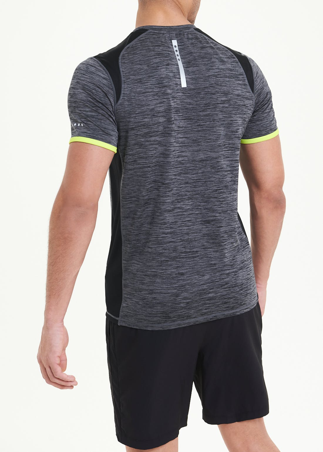 Souluxe Charcoal Gym T-Shirt
