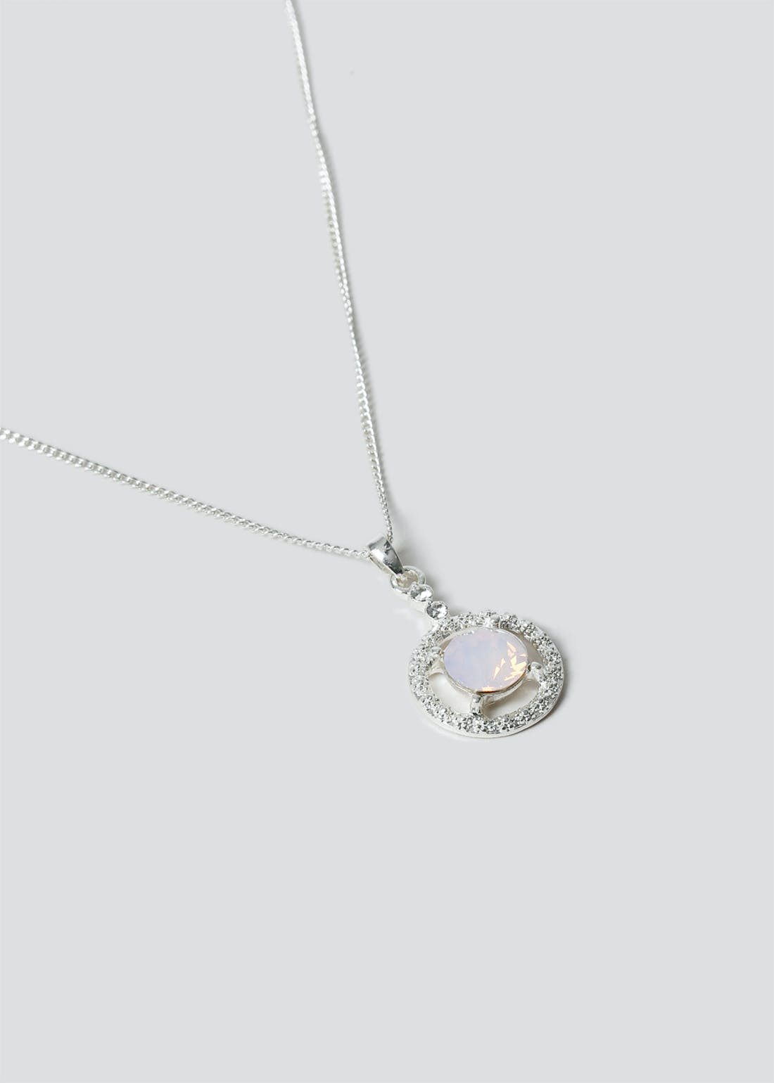 Swarovski Circle Necklace
