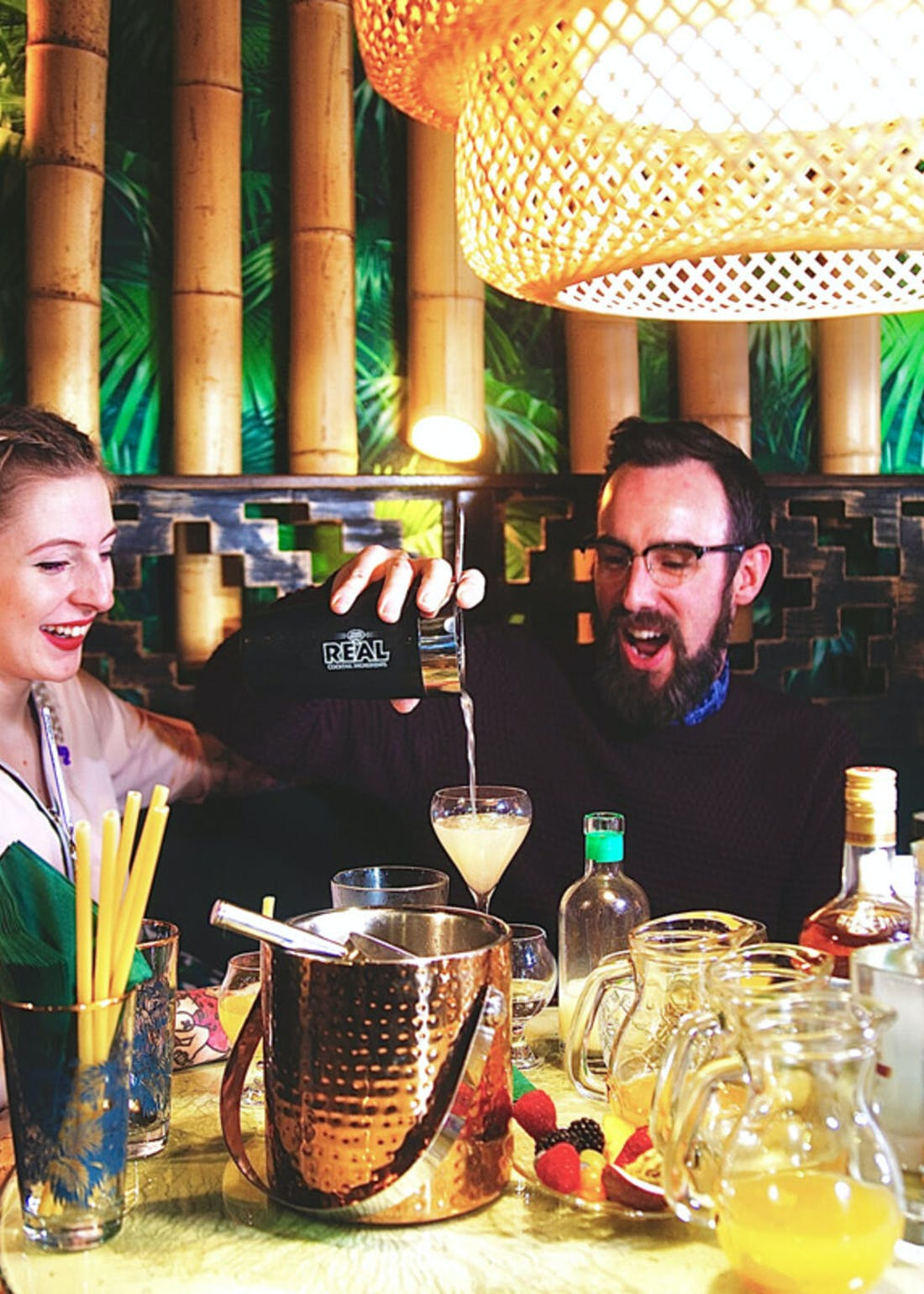 Virgin Experience Days Tropical Cocktail Masterclass for 2 at Laki Kane London