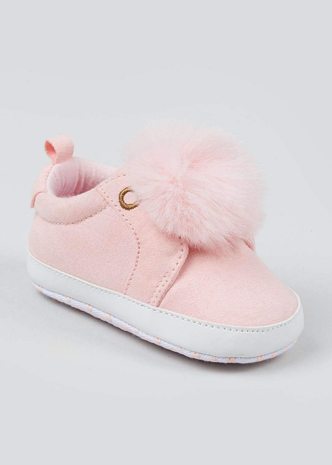 Girls Soft Sole Baby Trainers (Newborn-18mths)
