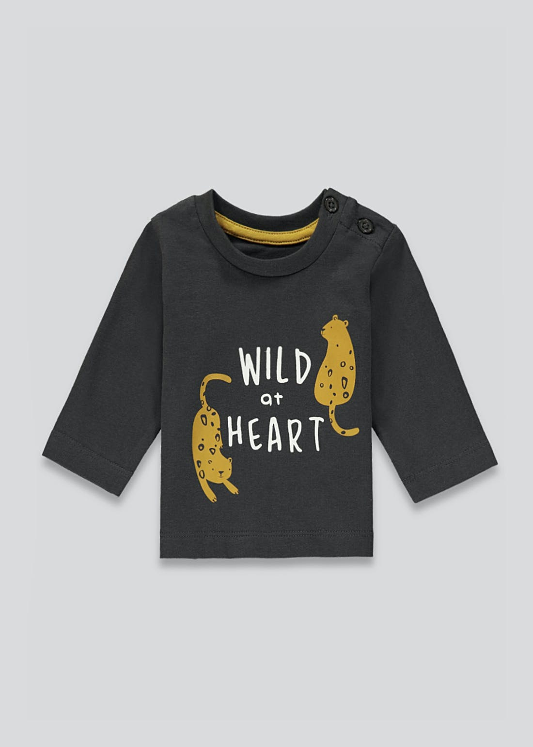 Unisex Wild at Heart T-Shirt (Newborn-23mths)