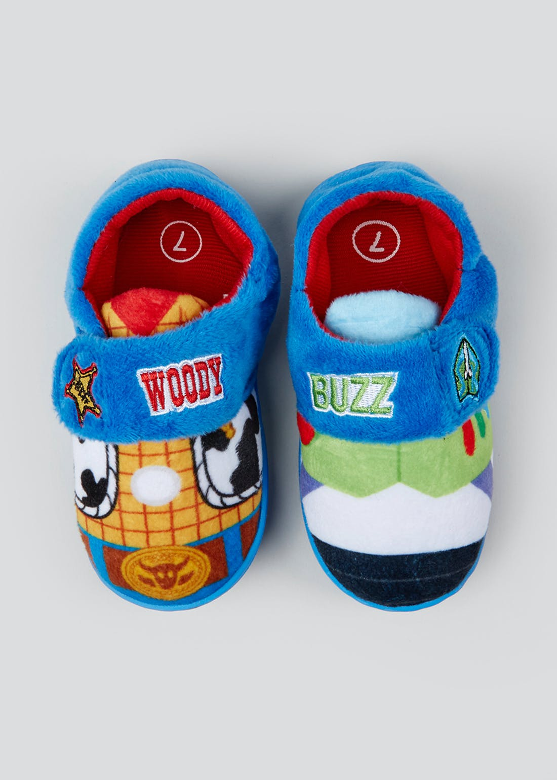 Kids Disney Toy Story Slippers (Younger 6-12)