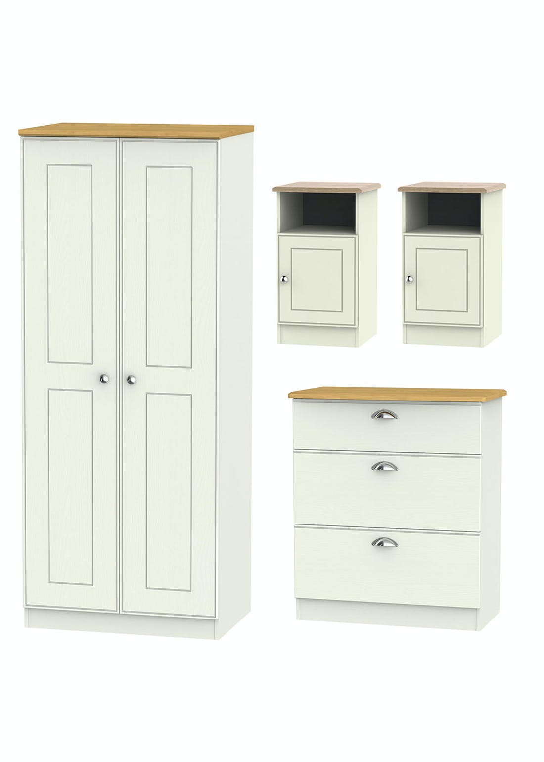 Swift Stamford 4 Piece Bedroom Furniture Collection
