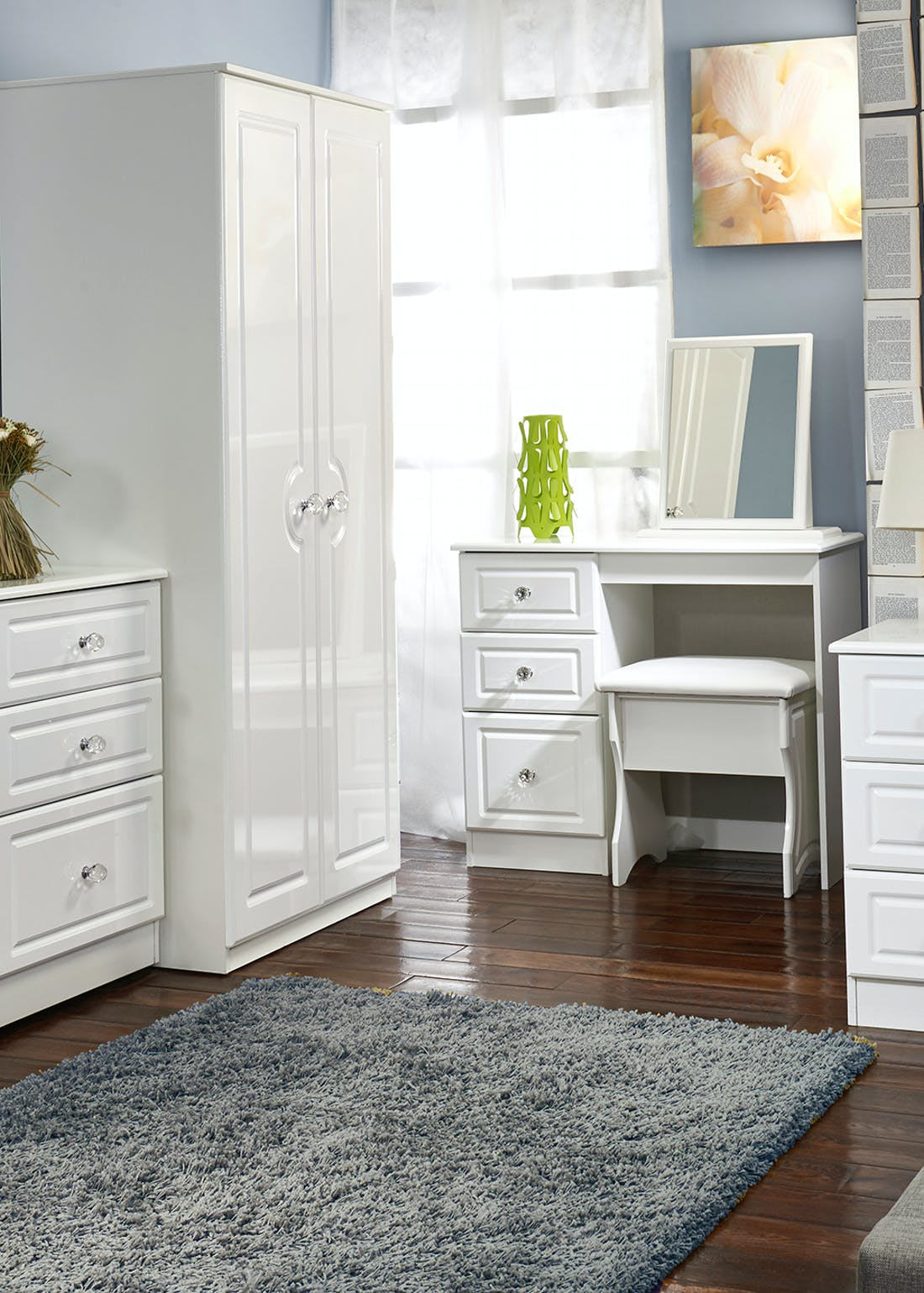 Swift Marlborough 4 Piece Bedroom Furniture Collection