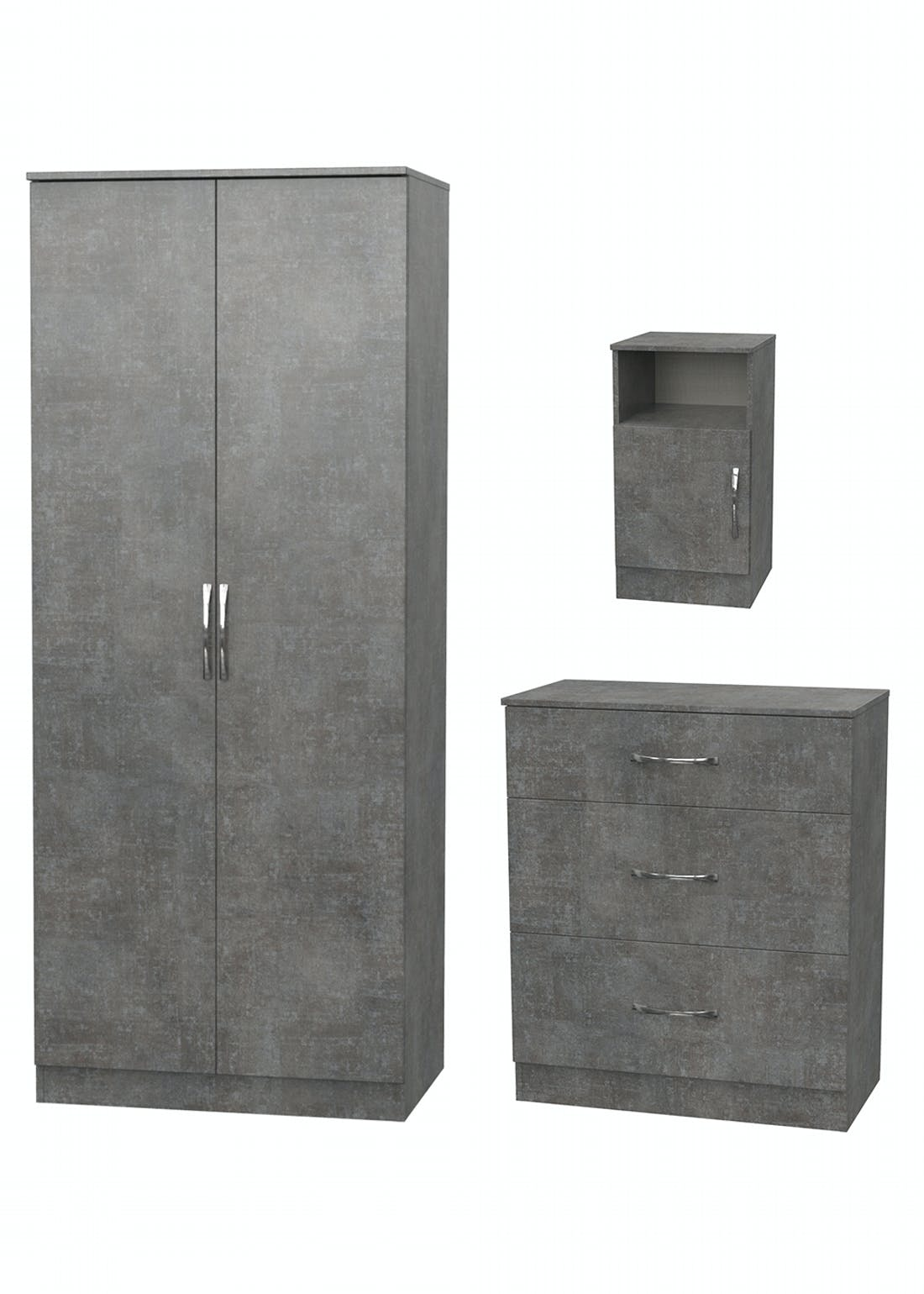 Swift Roma 3 Piece Bedroom Furniture Collection