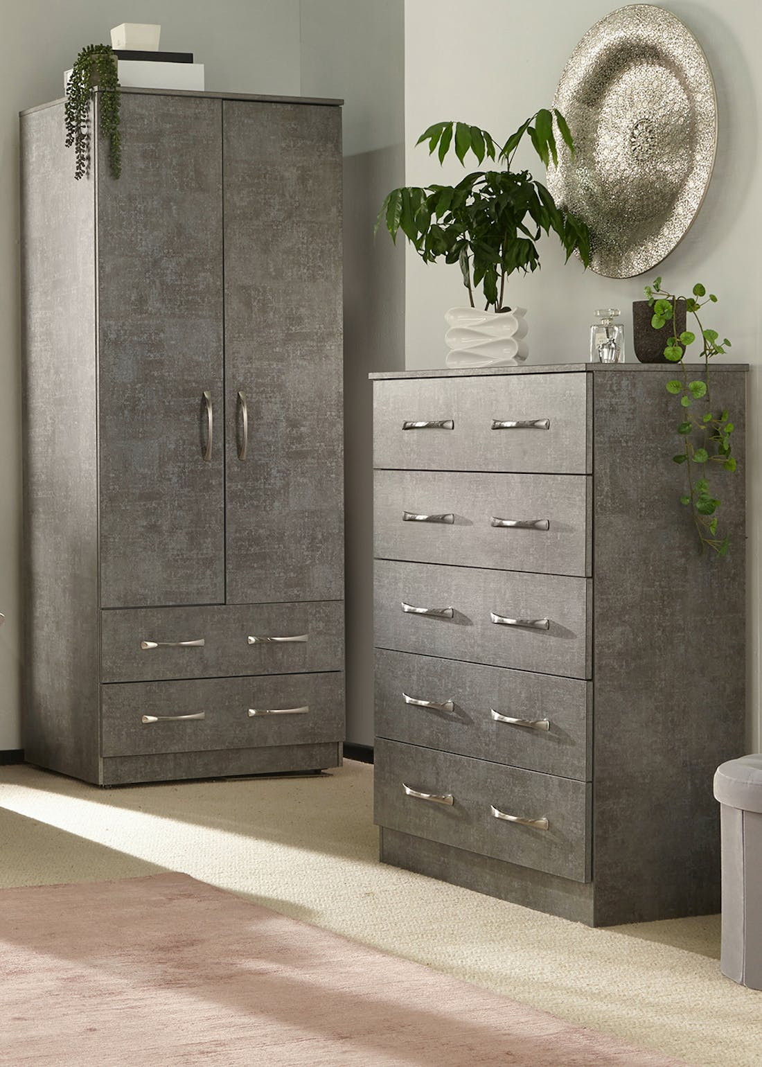 Swift Roma 4 Piece Bedroom Furniture Collection