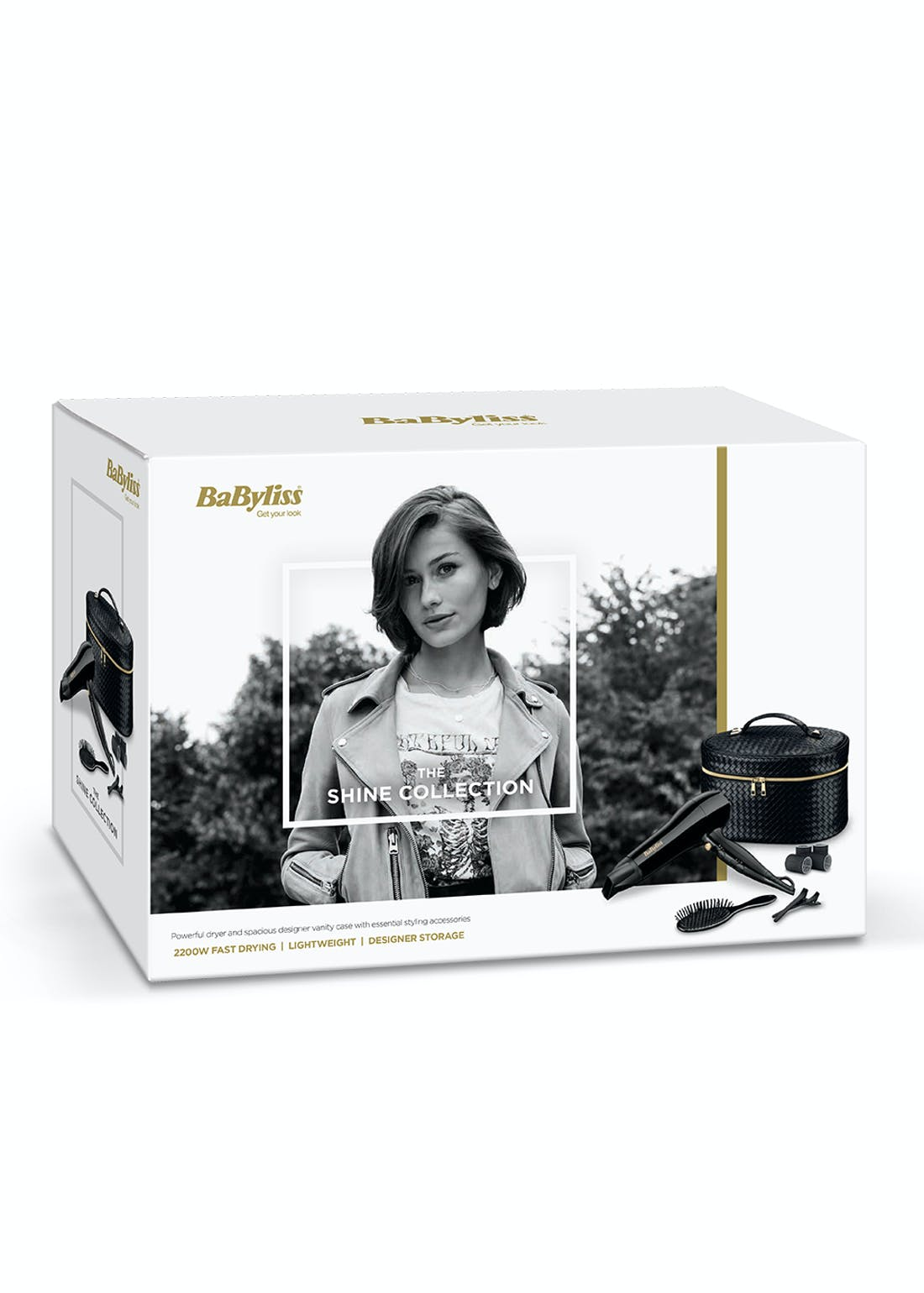 BaByliss Shine Collection Hairdryer Set